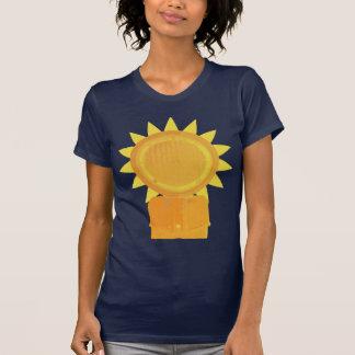 Girasol mecánico camisetas