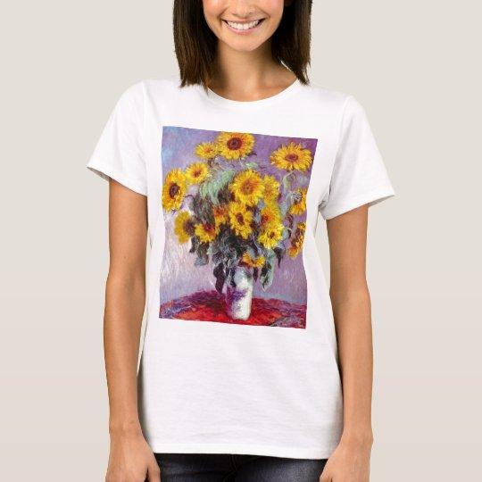 Girasoles de Monet Camiseta