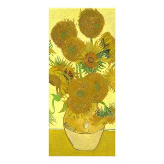 Girasoles de Van Gogh el | el | 1888 Tarjetas Publicitarias Personalizadas