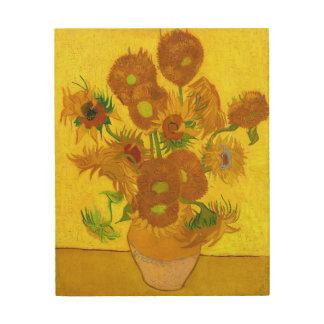 Girasoles de Van Gogh quince en una bella arte del