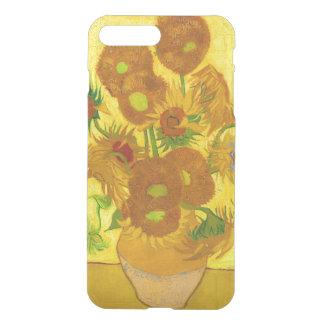 Girasoles de Van Gogh quince en una bella arte del Funda Para iPhone 7 Plus
