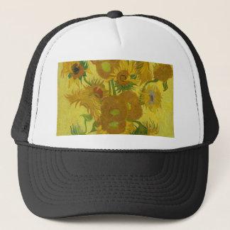 Girasoles de Vincent van Gogh - arte clásico Gorra De Camionero