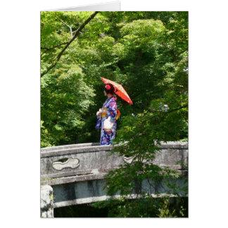 Girl Japan Tarjeta