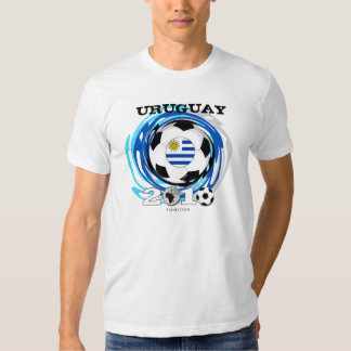 Giro de la camiseta del mundial de Uruguay