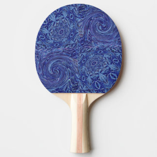 Giro en el hielo pala de ping pong