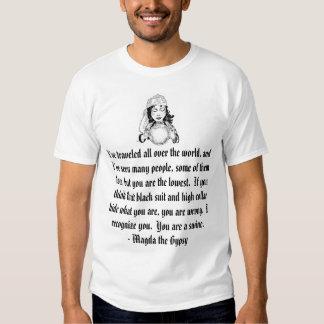 gitano/clero camisetas