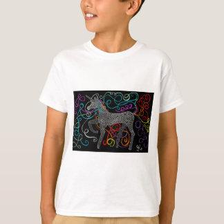 Gitano el unicornio mágico completo camiseta