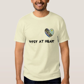 Gitano en el corazón camisetas