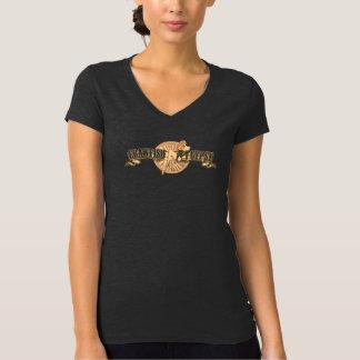 Gitano f/b de los cangrejos del vintage camiseta