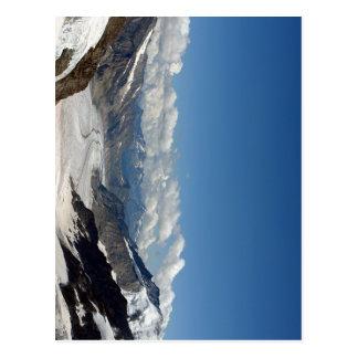 Glaciar de Aletsch en Jungfrau en Suiza Postal