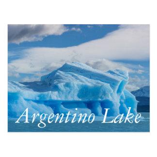 Glaciars, lago Argentino Postal