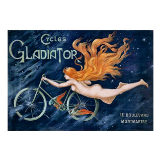 Gladiador de los ciclos por el vintage de Jorte Impresiones
