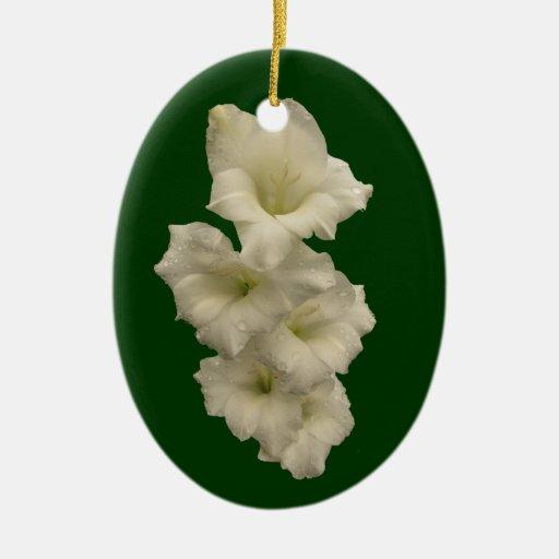 Gladiolas ornamentos de navidad zazzle - Ornamentos de navidad ...