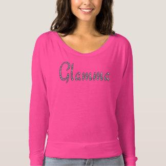 Glamma bling la camiseta de encargo