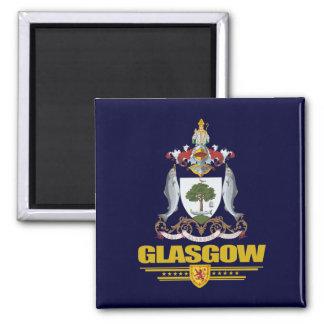 Glasgow Imán Cuadrado