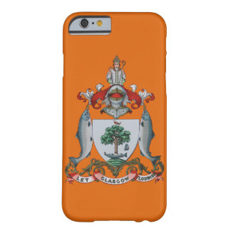 Glaswegian dejó el escudo de armas del Flourish de Funda Barely There iPhone 6
