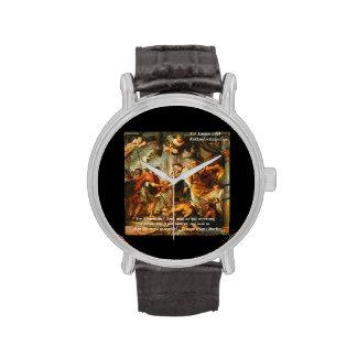 Glaucon (Brother de Platón) y reloj de la cita de