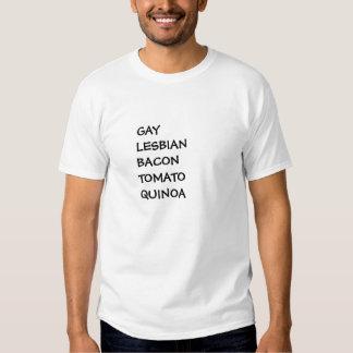 GLBTQ: quinoa lesbiana gay S a 6XL del tomate del Camiseta