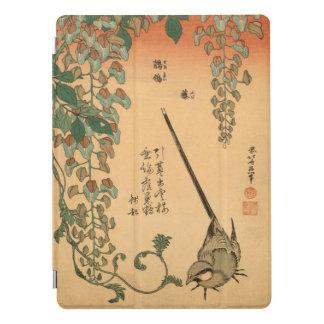 Glicinias del vintage de Hokusai y arte de Cubierta Para iPad Pro