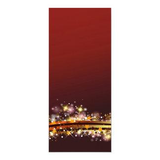 glitter invitación 10,1 x 23,5 cm