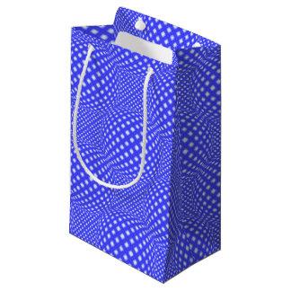 Globo cuadrado del punto bolsa de regalo pequeña