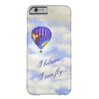 Globo del aire caliente que creo que puedo volar funda barely there iPhone 6