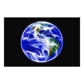 Globo del mundo de la tierra del planeta  papeleria