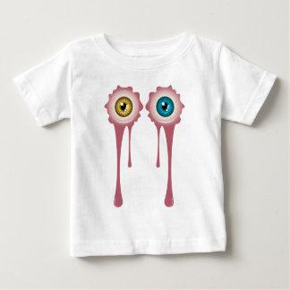 Globo del ojo sangriento 2 de Halloween Camiseta De Bebé