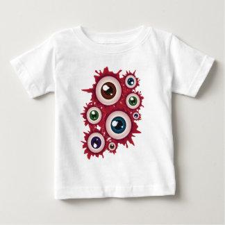 Globo del ojo sangriento 4 de Halloween Camiseta De Bebé