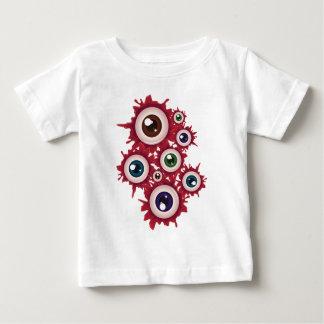 Globo del ojo sangriento 5 de Halloween Camiseta De Bebé