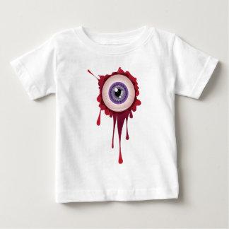 Globo del ojo sangriento de Halloween Camiseta De Bebé
