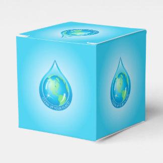 Globo en Waterdrop Cajas Para Regalos