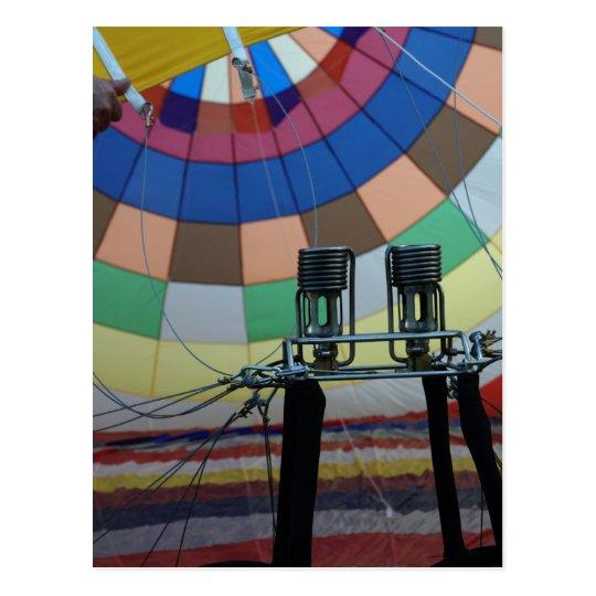 Globo modelballon-4 postal