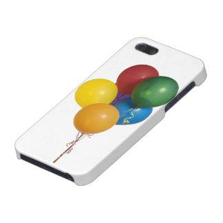 Globos coloreados multi del fiesta iPhone 5 carcasas