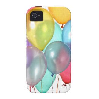 Globos del cumpleaños iPhone 4 carcasa