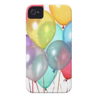 Globos del cumpleaños Case-Mate iPhone 4 fundas