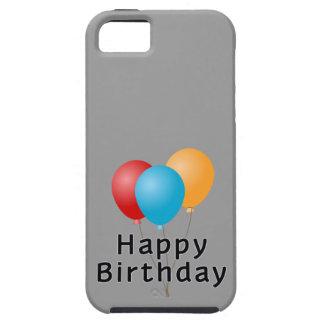 Globos del feliz cumpleaños iPhone 5 cobertura