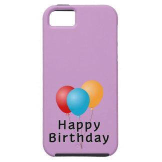Globos del feliz cumpleaños iPhone 5 fundas