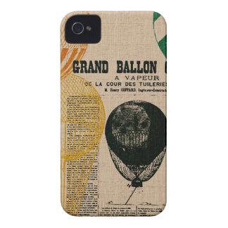 Globos del vintage iPhone 4 Case-Mate carcasas