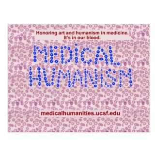 Glóbulos médicos de la humanidad postal