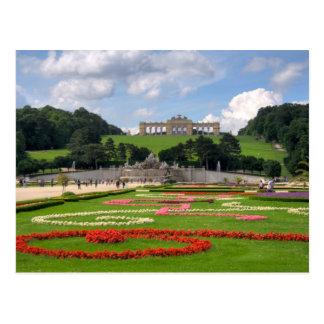 Gloriette en Schönbrunn Viena Austria Postal