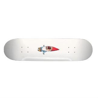 Gnomo del jardín pulido (ningún shading) patineta personalizada