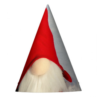 Gnomo escandinavo del navidad gorro de fiesta
