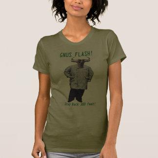 GNUS FLASH-_-Steer claro de los GNUS el inclinarse Camisetas