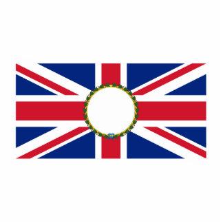 Gobernador británico (moderno), bandera de Reino U Esculturas Fotográficas