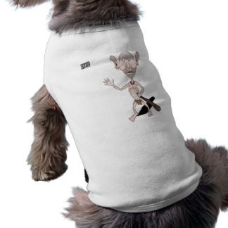 Goblin enojado camiseta sin mangas para perro