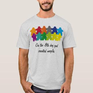 God created the meeples camiseta
