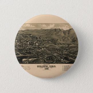 golden1882 chapa redonda de 5 cm