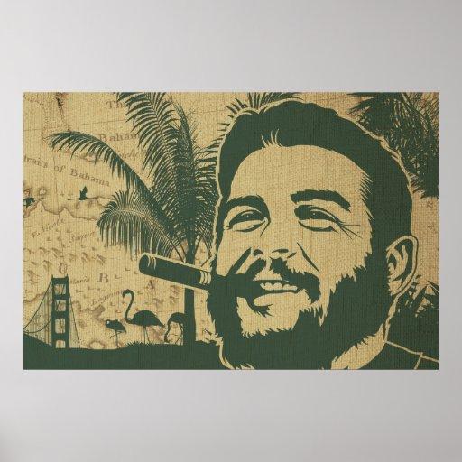 Golden Gate Che Guevara Poster