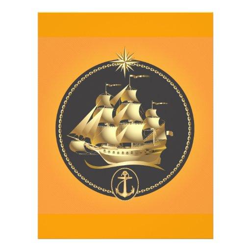 Golden-Sailboat.ai Tarjeta Publicitaria